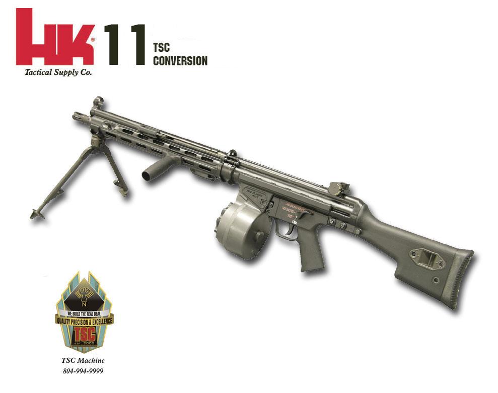 K 11 Gun TSC Machine — HK 11-...